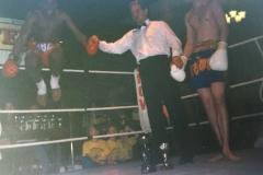 Kru Rick Lewis First Muay Thai Boxing Fight