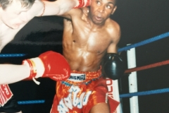 Kru Rick Lewis Muay Thai Boxing Fight