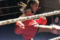 Sacha Lewis Muay Thai Boxing Fight