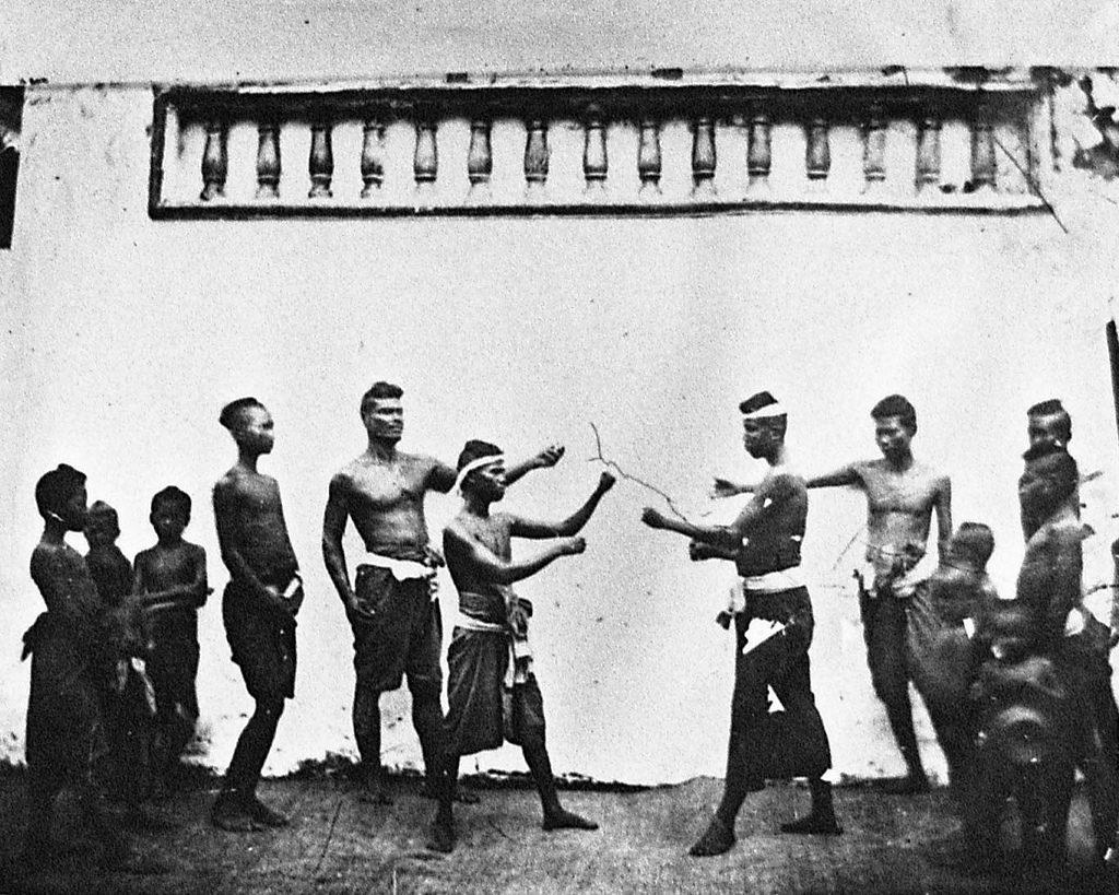 Thai Boxing Martial Art