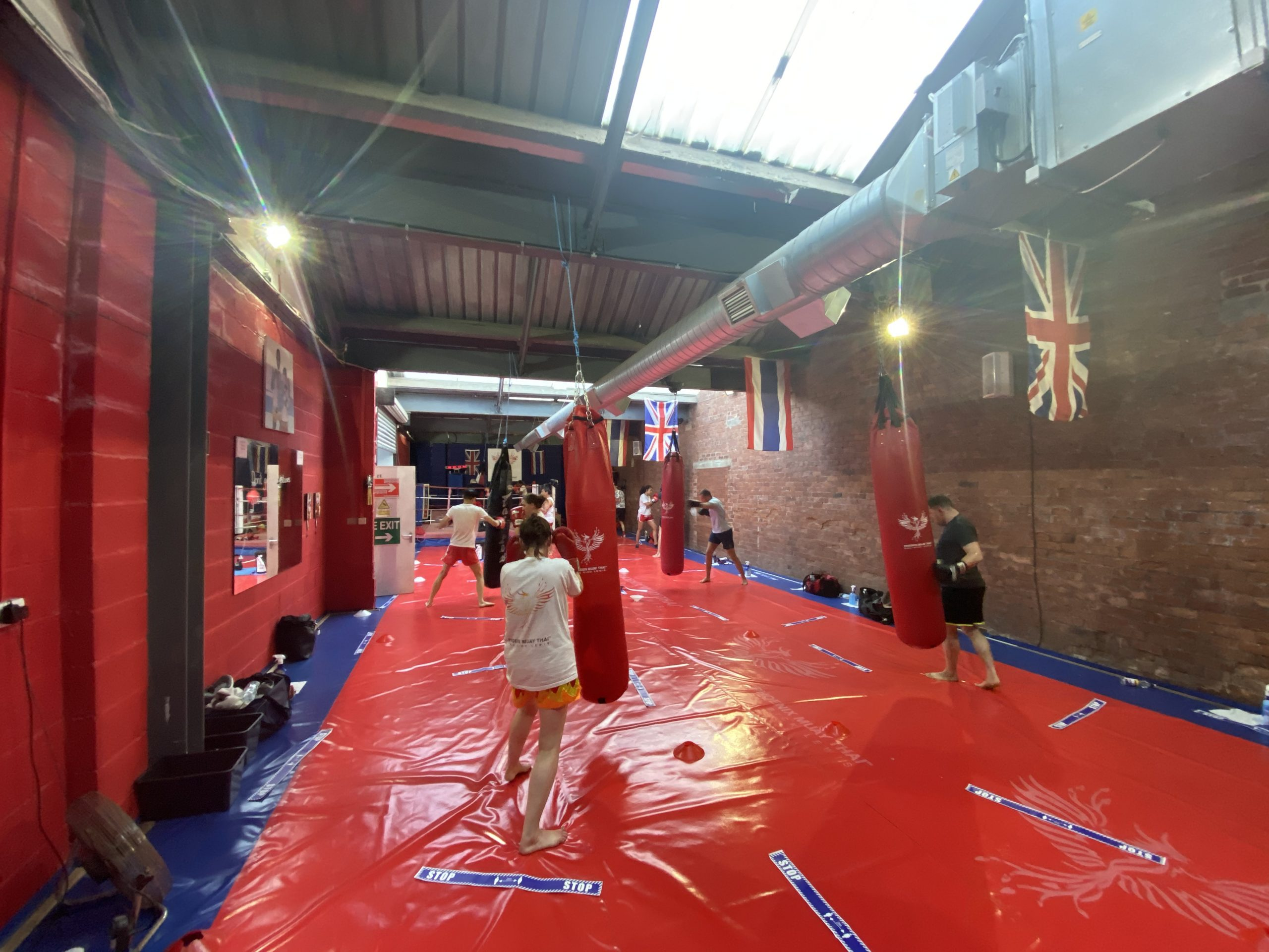 Social Distance Phoenix Muay Thai Boxing Class